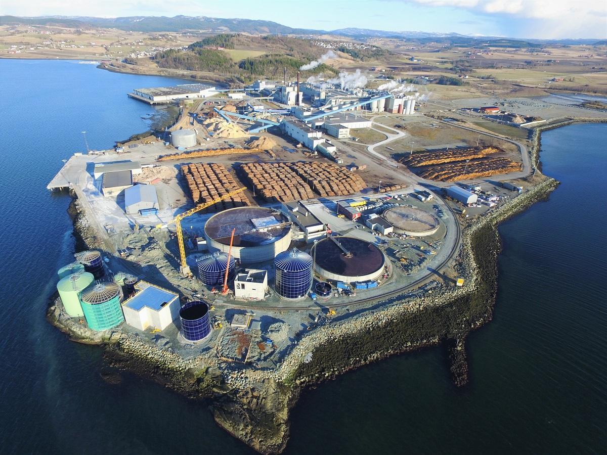 Biokraft factory Skogn